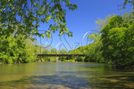 View of Monocacy River from Gambrill Mill Trail, Monocacy National Battlefield Park, Frederick, Maryland, USA