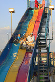 Giant Slide, Augusta County Fair, Fishersville, Shenandoah Valley, Virginia, USA
