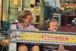 Giant Slide, Augusta County Fair, Fishersville, Shenandoah Valley, Virginia, USA