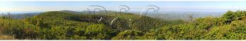 View From Reddish Knob in George Washington National Forest near Dayton, Virginia, USA