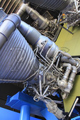 Saturn V Engine, U.S. Space & Rocket Center, Huntsville, Alabama, USA
