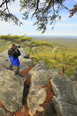 Pulpit Rock Trail, Cheaha State Park, Delta, Alabama, USA