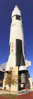 Saturn V Replica, Apollo Courtyard, U.S. Space & Rocket Center, Huntsville, Alabama, USA