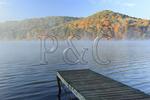 Morning fog at Short Creek, Lake Guntersville Resort State Park, Guntersville, Alabama, USA