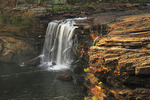 Little River Falls, Little River Canyon National Preserve, Fort Payne, Alabama, USA