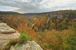 Canyon View Overlook, Little River Canyon National Preserve, Fort Payne, Alabama, USA