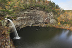 DeSoto Falls, DeSoto State Park, Fort Payne, Alabama, USA