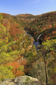 Obed Wild and Scenic River, Lilly Bluffs Overlook, Wartburg, Tennessee, USA