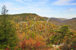 Milliken's Overlook, Gorge Scenic Drive, Fall Creek Falls State Resort Park, Pikeville, Tennessee, USA