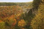 Buzzards Roost, Gorge Scenic Drive, Fall Creek Falls State Resort Park, Pikeville, Tennessee, USA