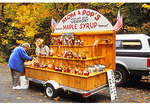 Maple Sugar stand, Moss Glen Falls, Granville, Vermont