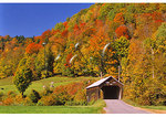 Covered Bridge near Tunbridge, Vermont