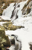 Jones River Falls, Shenandoah National Park, Virginia, USA