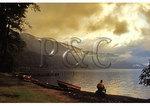Sunset on Crescent Lake, Olympic National Park, Washington