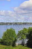 Rear of Roosevelt Cottage, Roosevelt Campobello International Park, Welshpool, Campobello Island, New Brunswick, Canada