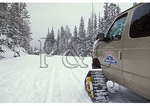 Snowcoach in Yellowstone National Park, Wyoming