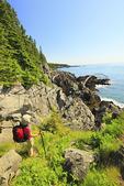 Cutler Coastal Trail, Bold Coast Preserve, Cutler, Maine, USA