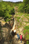 Silver Cascade, Crawford Notch, White Mountains, New Hampshire, USA