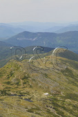 Appalachian Trail and Lakes of the Clouds and Hut, Mount Washington, White Mountains, New Hampshire, USA