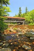 Albany Bridge, Kancamagus Highway, White Mountains, New Hampshire, USA