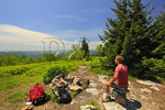 Camp Site, Hidden PassageTrail, Flat Rock and Roaring Plains, Dolly Sods, Dry Creek, West Virginia, USA