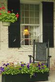 Porch of The Grafton Inn, Grafton, Vermont, USA