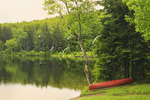 Grout Pond, Kelly Stand Road, Near Appalachian Trail, Arlington, Vermont, USA