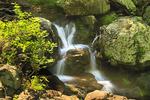Waterfall Beside Jeremy's Run Trail, Shenandoah National Park, Virginia, USA