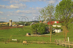 Farm in the Shenandoah Valley of Virginia, USA