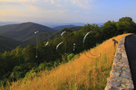 Two Mile Run Overlook, Shenandoah National Park, Virginia, USA