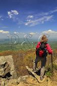 View From Appalachian Trail, Mount Marshall North, Shenandoah National Park, Virginia, USA