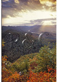 Pinnacle Overlook in Virginia, Cumberland Gap National Historical Park, Middlesboro, Kentucky