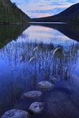 Sunset, Bubble Pond, Acadia National Park, Maine, USA