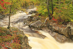 Coos Canyon of the Swift River, Byron, Maine, USA