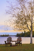 Sunrise, Five Lakes Lodge, South Twin Lake, Millinocket, Maine, USA