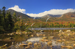 Sandy Stream Pond with Mount Katahdin, Baxter State Park, Millinocket, Maine, USA