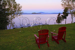 Sunrise, Loon Lodge, Rangeley Lake, Rangeley, Maine, USA