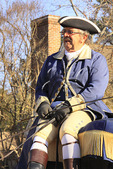 Carriage in the Historic Area in Colonial Williamsburg, Virginia, USA