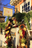 Christmas Wreath, Colonial Williamsburg, Virginia, USA