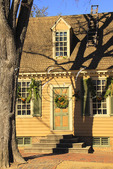 Christmas Decorations, Colonial Williamsburg, Virginia, USA