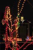Christmas Lights along Boardwalk, Virginia Beach, Virginia, USA