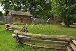 FORT WATAUGA, SYCAMORE SHOALS STATE HISTORIC PARK, ELIZABETHTON, TENNESSEE, USA
