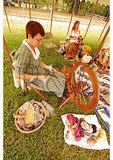 Spinning wool, War 0f 1812 Reenactment, Jefferson Patterson Park and Museum, Saint Leonard Creek, Maryland