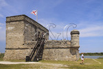 FORT MANTANZUS NATIONAL MONUMENT, SAINT AUGUSTINE, FLORIDA, USA