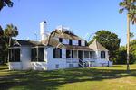 PLANTATION HOUSE, KINGSLEY PLANTATION, THE TIMUCUAN PRESERVE, FORT GEORGE ISLAND, JACKSONVILLE, FLORIDA, USA