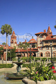 FLAGLER COLLEGE, HISTORIC DOWNTOWN, SAINT AUGUSTINE, FLORIDA, USA