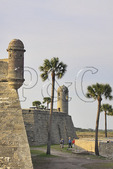 CASTILLO DE SAN MARCOS, HISTORIC DOWNTOWN, SAINT AUGUSTINE, FLORIDA, USA