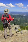 High Top Mountain, Appalachian Trail, Shenandoah National Park, Virginia, USA