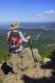 High Top Mountain, Appalachian Trail, Shenandoah National Park, Virginia, USA
