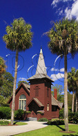 Faith Chapel, Historic District, Jekyll Island, Georgia, USA